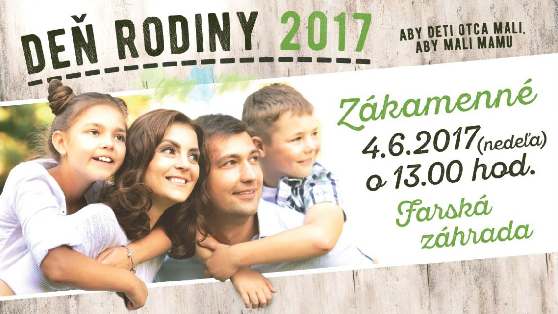Deň rodiny 2017
